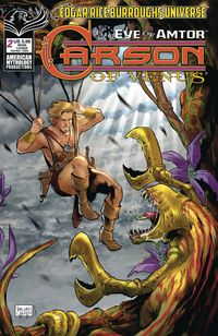 [The cover for Carson Of Venus: Eye Of Amtor #2 (Cover A Carratu)]