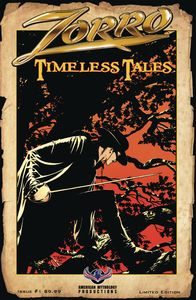 [Zorro: Timeless Tales #1 (Cover B Limited Pulp Variant) (Product Image)]