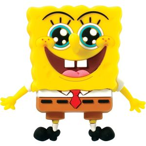 [SpongeBob SquarePants: 3D Foam Magnet: SpongeBob Star (Product Image)]
