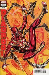 [Deadpool #14 (Brooks Spider-Man Variant) (Product Image)]
