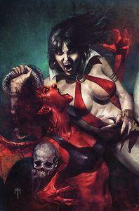[Vampirella Vs Purgatori #1 (Mastrazzo Virgin Variant) (Product Image)]