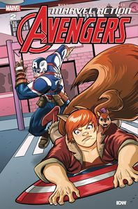 [Marvel Action: Avengers (2020) #2 (Cover A Mapa) (Product Image)]