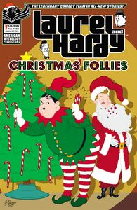 [Laurel & Hardy: Christmas Follies #1 (Cover A Shanower) (Product Image)]
