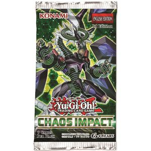 [Yu-Gi-Oh!: Booster Pack: Chaos Impact (1st Edition) (Product Image)]