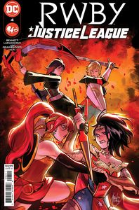 [RWBY/Justice League #4 (Product Image)]