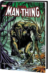 [Man-Thing: Omnibus (Brunner DM Variant New Printing Hardcover) (Product Image)]