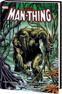 [Man-Thing: Omnibus (Brunner DM Variant New Printing Hardcover) (Product Image)]