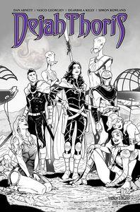 [Dejah Thoris: 2019 #12 (Georgiev Black & White Variant) (Product Image)]