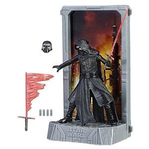 [Star Wars: The Force Awakens: Titanium Black Series Figure: Kylo Ren (Product Image)]