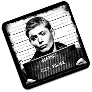 [Supernatural: Coaster: Dean Mugshot (Product Image)]