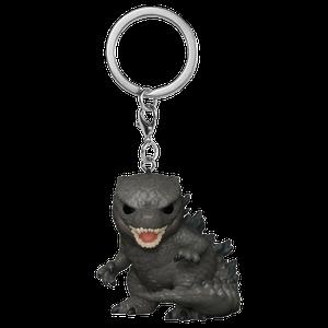[Godzilla Vs Kong: Pocket Pop! Vinyl Keychin: Godzilla (Product Image)]