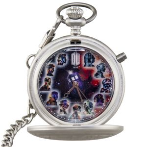 [Doctor Who: Fob Watch: 50th Anniversary (Product Image)]