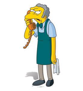 [Simpsons: Standee: Moe (Product Image)]
