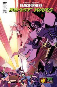 [Transformers: Beast Wars #6 (Cover A Josh Burcham) (Product Image)]