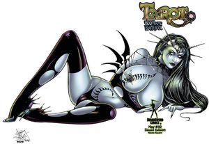 [Tarot: Witch Of The Black Rose #110 (Product Image)]