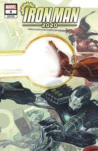[Iron Man: 2020 #4 (Bianchi Connecting Variant) (Product Image)]