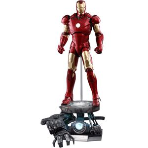 [Iron Man: Deluxe 1:4 Scale Figure: Mark 3 Suit (Product Image)]