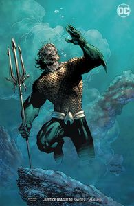 [Justice League #10 (Jim Lee Variant Edition - Drowned Earth) (Product Image)]
