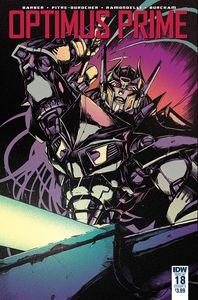[Optimus Prime #18 (Cover A Zama) (Product Image)]