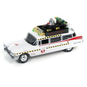 [Ghostbusters 2: 1:64 Scale Die-Cast Johnny Lightning Ecto-1 (Product Image)]
