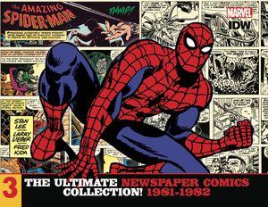 [Amazing Spider-Man: Ultimate Newspaper Comics: Volume 3: 1981-1982 (Hardcover) (Product Image)]