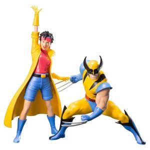 [X-Men 1992: ArtFx+ Statue: Wolverine & Jubilee (2 pack) (Product Image)]