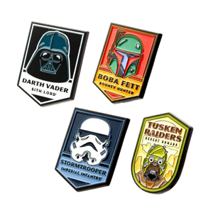 [Star Wars: 4 Pin Set: Dark Side (Product Image)]