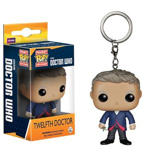 [Doctor Who: Pocket Pop! Vinyl Keychain: 12th Doctor (Product Image)]