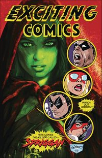 [The cover for Exciting Comics #1 (Main Cover)]