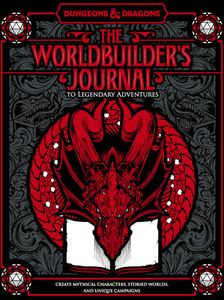[The Worldbuilder's Journal To Legendary Adventures (Hardcover) (Product Image)]