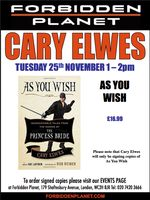 [Cary Elwes Signing As You Wish (Product Image)]