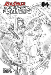 [Red Sonja: Age Of Chaos #4 (Quah Sketch Variant) (Product Image)]