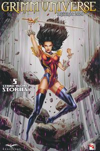 [The cover for Grimm Universe Presents 2020 (Cover A Vitorino)]