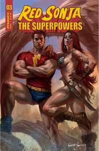 [Red Sonja: The Superpowers #3 (Cover A Parrillo) (Product Image)]
