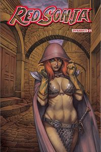 [Red Sonja #21 (Cover B Linsner) (Product Image)]
