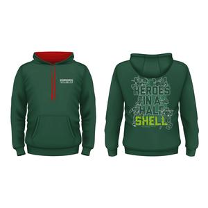 [Teenage Mutant Ninja Turtles: Hoodie: Half Shell Quote (Product Image)]