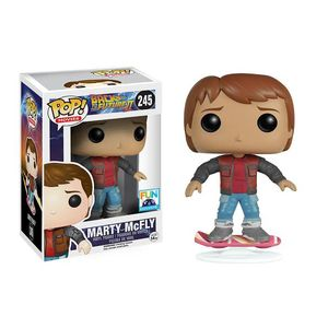 [Back To The Future 2: Pop! Vinyl Figure: Marty McFly On Hoverboard (Product Image)]