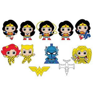 [Wonder Woman: Classic: 3D PVC Figural Keyring (Product Image)]