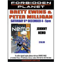 [Brett Ewins and Peter Milligan Signing Johnny Nemo (Product Image)]