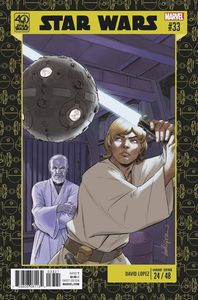 [Star Wars #33 (Lopez Star Wars 40th Anniversary Variant) (Product Image)]
