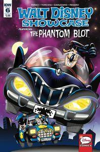 [Walt Disney Showcase #6 (Phantom Blot Cover B Freccero) (Product Image)]