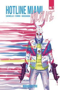 [The cover for Hotline Miami Wildlife #1 (Cover A Massaggia)]