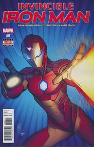 [Invincible Iron Man #6 (Product Image)]