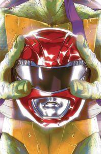 [Power Rangers/Teenage Mutant Ninja Turtles #1 (Cover E Montes) (Product Image)]