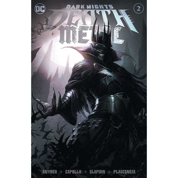 [The cover for Dark Nights: Death Metal #2 (Of 6) (Forbidden Planet Exclusive Mattina Variant)]