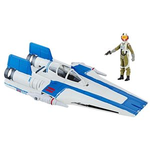 [Star Wars: The Last Jedi: Galaxy Class B Vehicle: Resistance A-Wing Fighter (Product Image)]