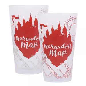 [Harry Potter: Cold Change Glass: Mauraders Map (Product Image)]