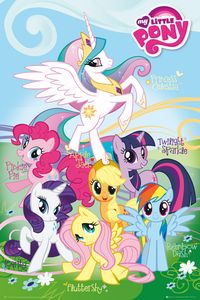 [My Little Pony: Poster: Names (Product Image)]