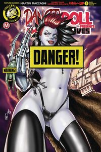 [Danger Doll Squad Presents: Amalgama Lives #2 (Cover F Harrigan) (Product Image)]
