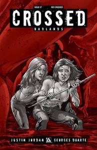 [Crossed: Badlands #57 (Red Crossed Variant) (Product Image)]